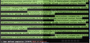 Vim で Rails の Omni 補完をするとバッファが乱れる